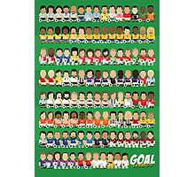 Goal Legends Photographic Print