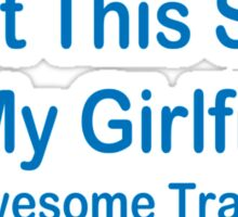 Awesome Trade Girl Funny TShirt Epic T-shirt Humor Tees Cool Tee Sticker