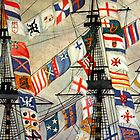 Ship Flags by photoloi