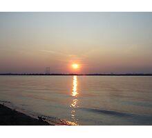 LakeShore Sunset Photographic Print