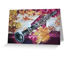 Melody of Fall  Greeting Card