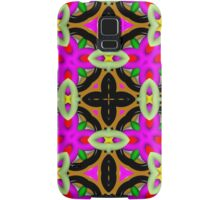 Abstract colorful kaleidoscope pattern Samsung Galaxy Case/Skin