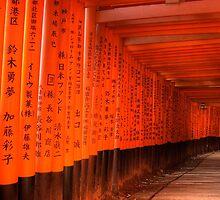 Fushimi Inari Shrine by louise