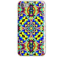 Trendy colorful abstract pattern iPhone Case/Skin