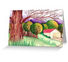 Old Barn - One Greeting Card