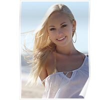 Gorgeous Gal - Cairns model Cachelle Poster