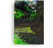 Stairway to heaven, er San Francisco Canvas Print