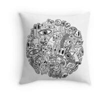 World Of Weird Throw Pillow
