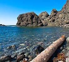 Sunset Rock Cove by Stephen Rowsell