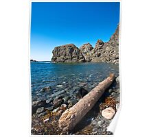 Sunset Rock Cove Poster
