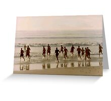 Baywatch Move Over Greeting Card