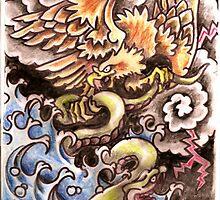 Eagle V Snake by ElLoboLoco
