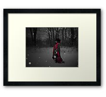 Winter Wishes Framed Print