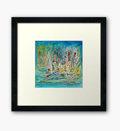 Sailing Today Framed Print