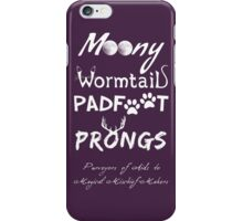Purveyors of Aids to Magical Mischief-Makers iPhone Case/Skin