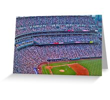 Coors Field Record Smash Greeting Card