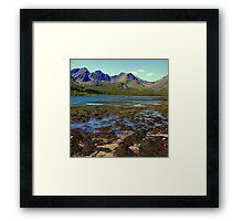 isle of skye,scotland Framed Print