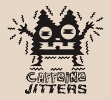 caffeine jitters - cat by Andi Bird
