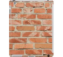 Brick wall. Old wall. iPad Case/Skin