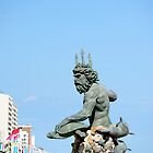 King Neptune statue-Va. Beach by Deweyreg