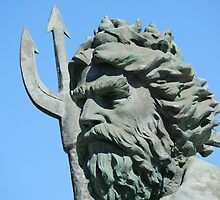 King Neptune statue2 Va.Beach by Deweyreg