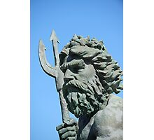 King Neptune statue2 Va.Beach Photographic Print