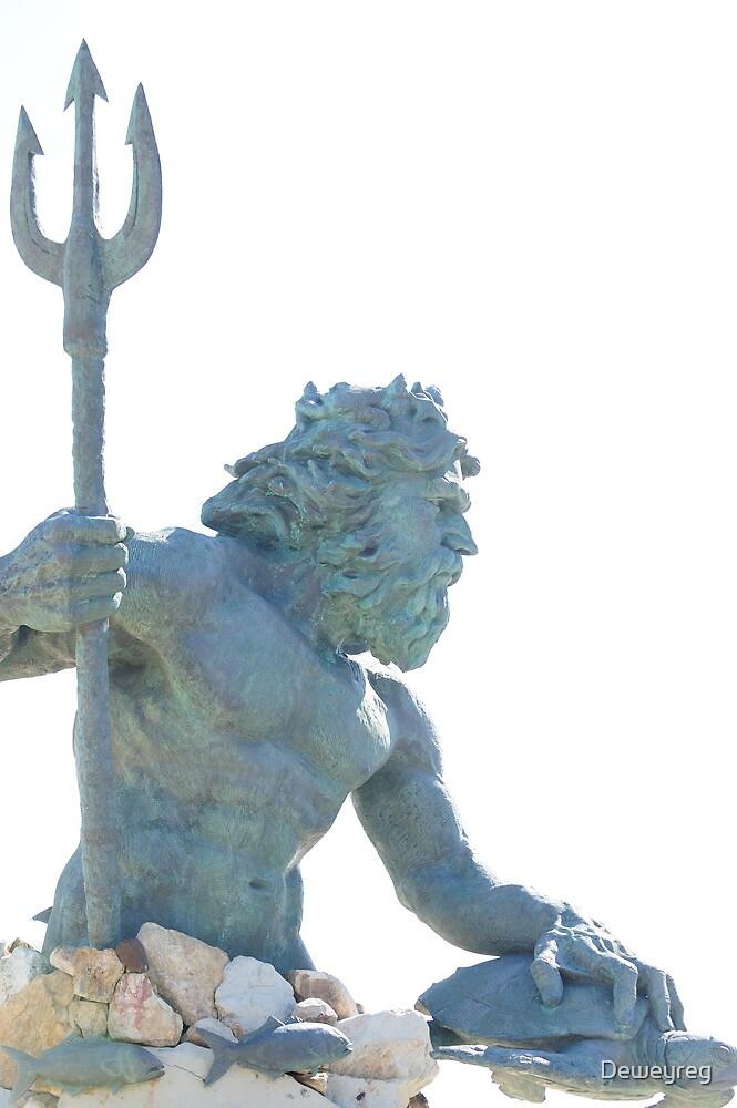 """king neptune statue"" by Deweyreg | Redbubble"