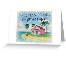 DBZ - Kame's House - The Original TRAPHOUSE Greeting Card