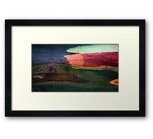 Colors and forms Framed Print
