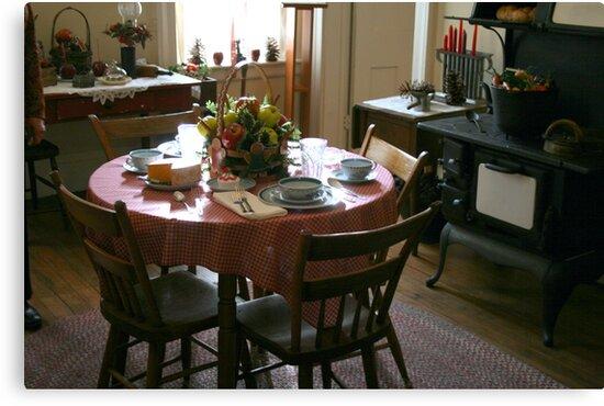 Small Victorian Kitchen by kkphoto1