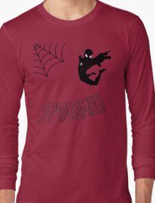 Swinging Spider Long Sleeve T-Shirt