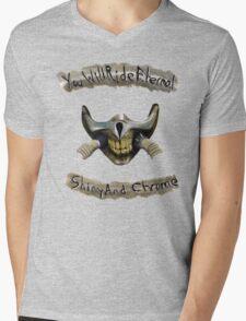 You Will Ride Eternal, Shiny and Chrome Mens V-Neck T-Shirt