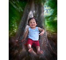 Psalms Dixon-my nephew Photographic Print