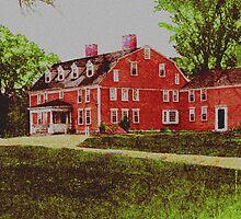 Wayside Inn 1875 by Cliff Wilson