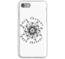 Zayn Forever iPhone Case/Skin