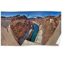 Hoover Dam -- The Other Side Poster