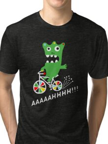 Critter Bike - dark Tri-blend T-Shirt