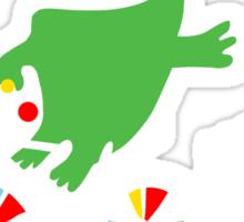 Critter Bike - dark Sticker