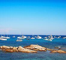 L´Escalet Beach, south of Saint Tropez, FRANCE by Digital Editor .