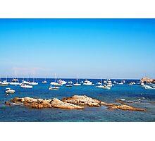 L´Escalet Beach, south of Saint Tropez, FRANCE Photographic Print