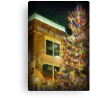 Christmas at Lambeau Canvas Print