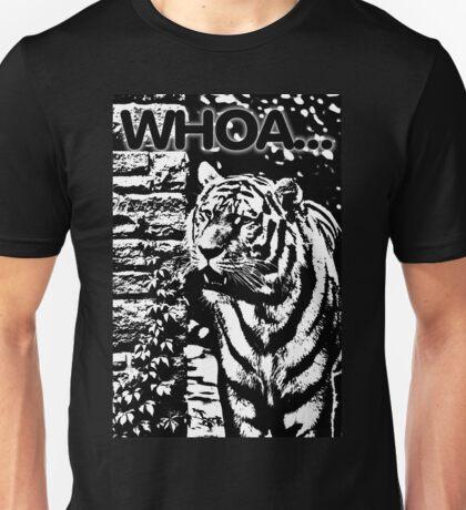 Whoa Tiger 2 Tone Unisex T-Shirt