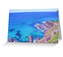 Emerald Tranquility, Northern NSW Greeting Card