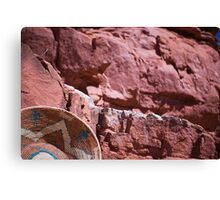 New Mexico Red Rocks Canvas Print