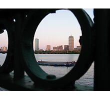 Fenced Back Photographic Print
