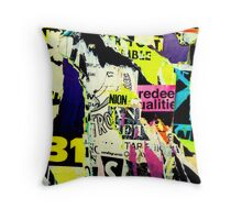 Poster Archaeology 2 Throw Pillow