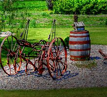 Old Cultivator by Larry Trupp