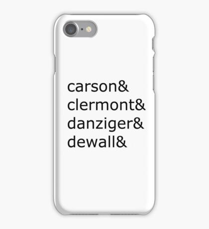 updated Set It Off band names  iPhone Case/Skin
