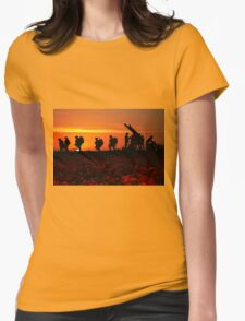 The Battle Womens Fitted T-Shirt