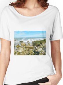 Rocky Shore Women's Relaxed Fit T-Shirt